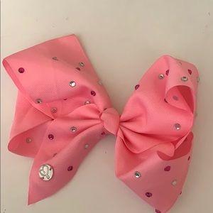 Light pink jojo bow